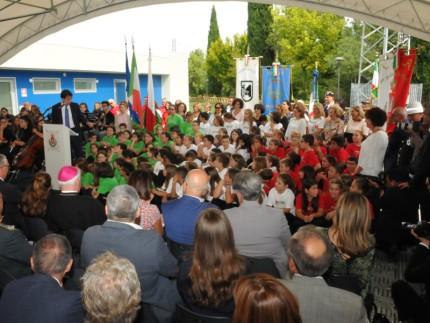 Inaugurazione scuola San Severino