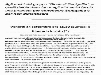 Storia Senigallia, percorso assieme