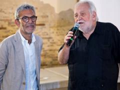 Il fotografo Massimo Siragusa e il Prof. Carlo Emanuele Bugatti