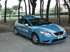 Polizia ai Giardini Morandi