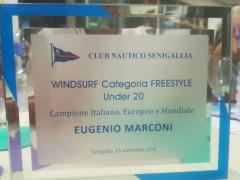 Targa per Eugenio Marconi