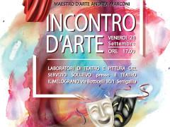 """""""Incontro d'arte"""" al Teatro Nuovo Melograno"""