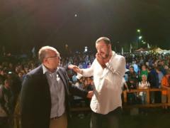 Massimo Bello e Matteo Salvini
