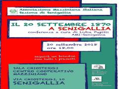 Ricordo 20 settembre a Senigallia