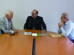 Gabrio Filonzi in visita a Senigallia