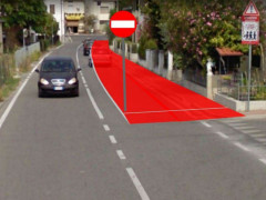 Strada del Foglia a senso unico a Pesaro