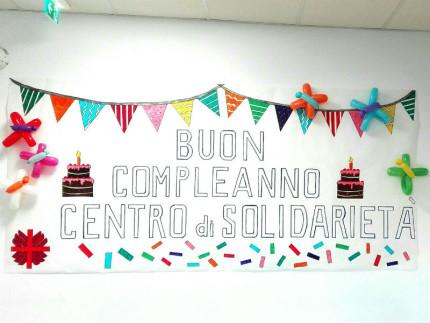 Primo compleanno Centro di Solidarietà - Caritas Senigallia