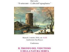 Il trionfo del Vedutismo e della natura morta - Conferenza de Il Salotto