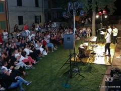 Pubblico a Trecastelli per lo spettacolo dedicato ad Alda Merini e Nori De' Nobili