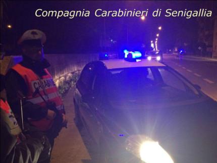 Controlli notturni dei Carabinieri