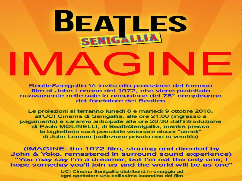 Beatlesenigallia Introduce Il Nuovo Film Omaggio A John Lennon
