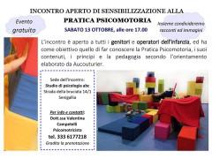 Sensibilizzazione alla pratica psicomotoria allo studio di psicologia abc di Senigallia