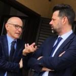 Fabrizio Volpini e Maurizio Mangialardi