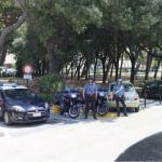 Controlli dei Carabinieri ai giardini Morandi di Senigallia