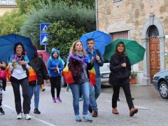 Scuola di Pace Buccelletti di Senigallia alla Marcia della Pace Perugia-Assisi