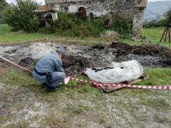 Sequestro rifiuti da parte dei Carabinieri Forestali ad Arcevia