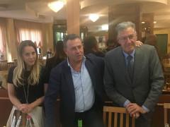 Elena Santelli, Maurizio Memè e Camillo Nardini