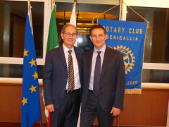 Nunzio Tartaglia ospite al Rotary Club