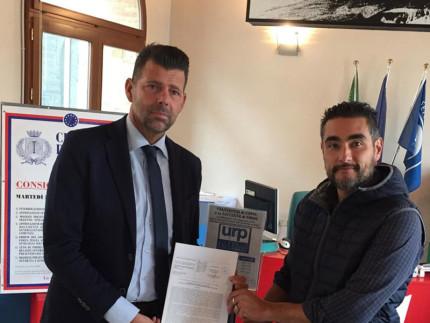 Maurizio Mangialardi e Maurizio Perini hanno sottoscritto la proposta di legge per l'insegnamento dell'educazione civica a scuola