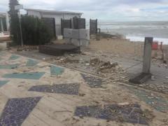 Vento e mareggiate: danni a Porto Sant'Elpidio