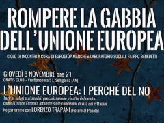 Rompere la gabbia dell'Unione Europea - ciclo di incontri a Senigallia