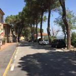Viale Enzo Paci a Monterado
