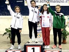 Ariccia Interregionale U14 Fioretto: bronzo per Chiara Mancino