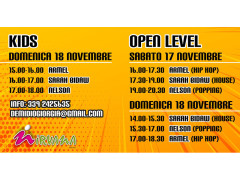 Dance Evolution: orari della decima edizione dello stage internazionale di Hip-Hop al Nirvana di Senigallia