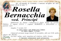 E' mancata all'affetto dei suoi cari Rossella Bernacchia ved. Principi