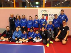 Tennistavolo: è iniziato il progetto Centri CONI