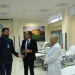 Inaugurazione nuovi locali Medicina Trasfusionale: Mangialardi, Bevilacqua, Spadini