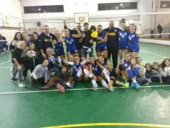 La US Pallavolo Senigallia festeggia la vittoria
