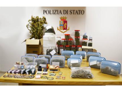 maxi sequestro di marijuana