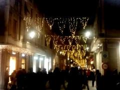 accese le luci in centro, al via Natale 2018