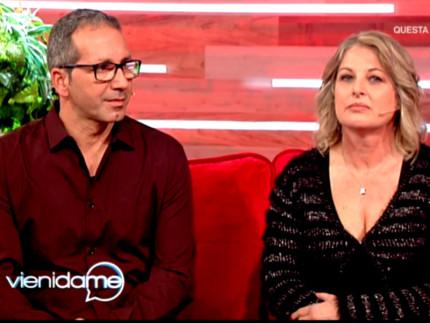 Carmelo Calì e la moglie Paola