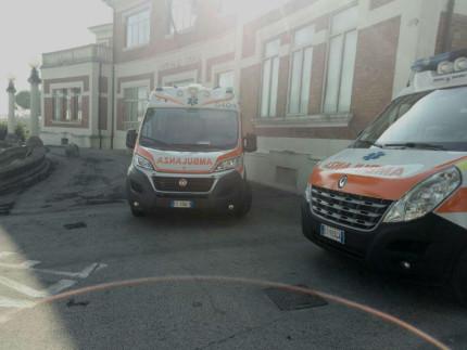 ospedale di Senigallia, ambulanze