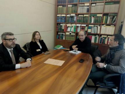 Massimo Olivetti, Simonetta Sgreccia, Giorgio Sartini e Riccardo Pizzi