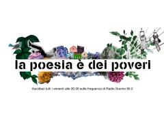 """Su Radio Duomo """"La poesia è dei poveri"""""""