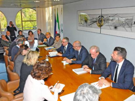 Firma del Patto per lo Sviluppo e la Ricostruzione