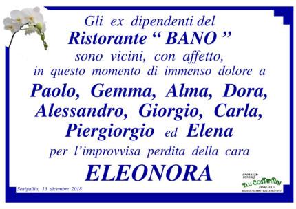 Necrologio Eleonora Girolimini