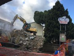 Demolizione villa Tarsi