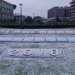 Neve a Senigallia il17 dicembre 2018