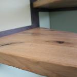 Dettaglio di una scala artigianale di Mondolfo Scale