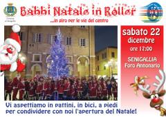 Babbi Natale in Roller 2018