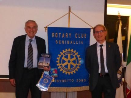 Il prof. Santilocchi al Rotary Club Senigallia