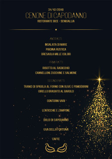 Cenone di Capodanno al Ristorante Bice di Senigallia - locandina