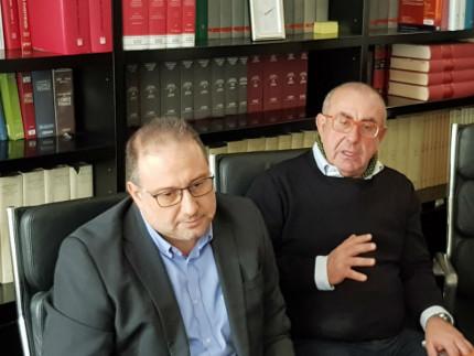 Roberto Paradisi e Domenico Liso