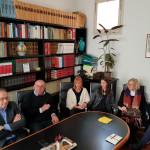 Roberto Paradisi e Domenico Liso con famiglie Chiarenza e Bertolini