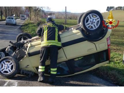 Incidente sulla strada Arceviese