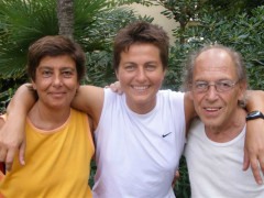 Emanuela Audisio con Sabrina Moretti ed Enzo Pettinelli